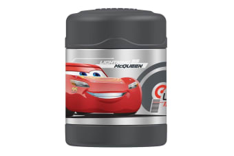 Thermos Funtainer 290ml Food Jar Stainless Steel Vaccum Insulated Flask Cars GRY