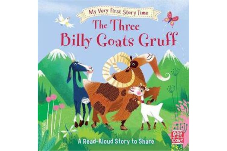 My Very First Story Time: The Three Billy Goats Gruff - Fairy Tale with picture glossary and an activity