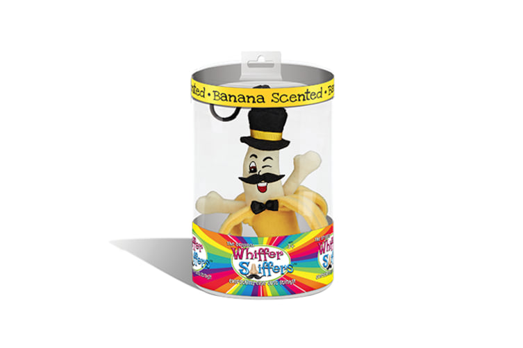 Whiffer Sniffers - 'Slippery Sam' Banana Scented Backpack Clip