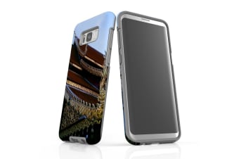 For Samsung Galaxy S8+ Plus Case Armour Cover  Intricacy of the Temple