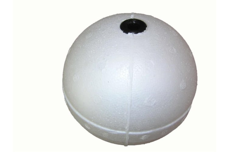 20 x 6 Inch Poly Floats with Plastic Insert - 6 Inch Foam Crab Pot Floats