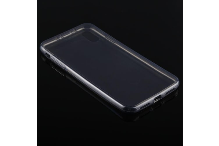 For iPhone XS Max Cover Ultra-thin Double-sided Transparent Thin Phone Case Grey