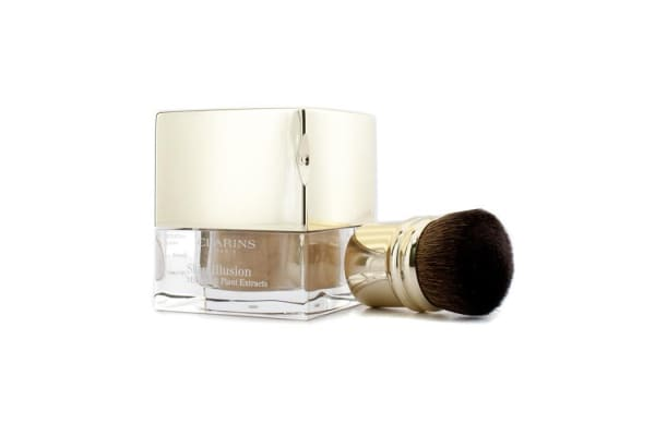 Clarins Skin Illusion Mineral & Plant Extracts Loose Powder Foundation (With Brush) - # 114 Cappuccino (13g/0.4oz)