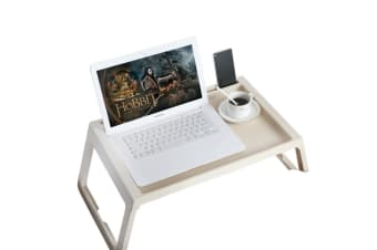 Foldable Desk Bed Tray Table Laptop Notebook Computer Stand Portable Dinner
