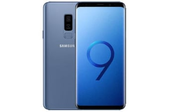 Used as Demo Samsung Galaxy S9+ Plus 64GB 4G LTE Smartphone Coral Blue (AUSTRALIAN STOCK + 100% GENUINE)