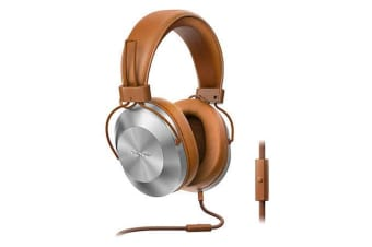 Pioneer Over-Ear Headphones with 40mm Drivers - Tan (SEMS5TT)