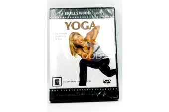 The Hollywood Trainer Yoga -Educational Series Region 4 DVD NEW