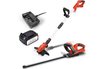 Matrix 20V Lithium Cordless Snipper Grass & Hedge Trimmer Electric Garden Tools