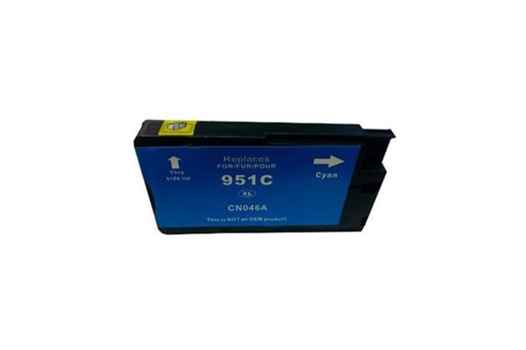 HP 951XL Cyan Compatible Cartridge with Chip