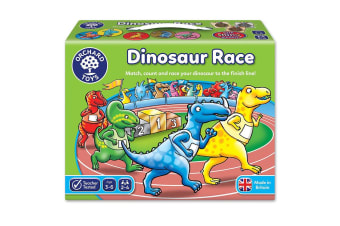 Dinosaur Race Game by Orchard Toys