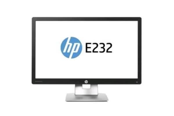 "HP EliteDisplay E232 23"" FHD LED Monitor 16:9 1920x1080 HDMI+VGA+DisplayPort"