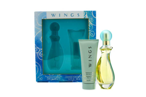 Giorgio Beverly Hills Wings Coffret: Eau De Toilette Spray 90ml/3oz + Body Moisturizer 100ml/3.4oz (2pcs)
