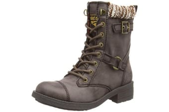 Rocket Dog Womens/Ladies Thunder Biker Boots (Brown Galaxy)