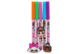 5pc LOL Surprise Art/Craft Multi Colour Pens Drawing/Sketch Markers for Kids 3y+