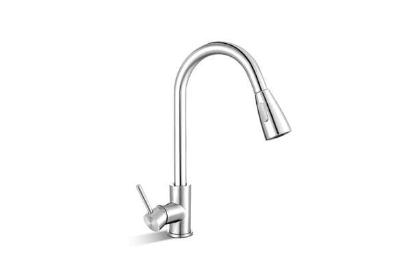 Cefito Pull-out Mixer Tap (Silver)