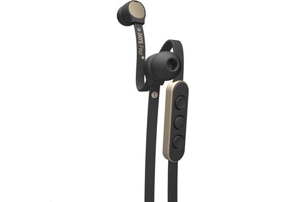 Jays a-JAYS Four+ iOS Headphones with Microphone - Gold/Black
