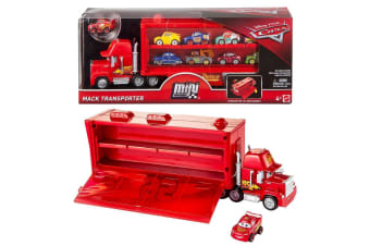 Disney Cars 3 Mini Racers Mack Transporter Truck