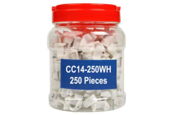 Cable Clips Bulk Plastic cable clamp with nail