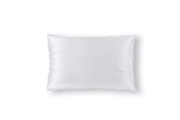 Royal Comfort Pure Silk Pillow Case 100% Mulberry Silk Hypoallergenic Pillowcase - White