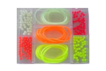 Surecatch Whiting Fishing Lumo Beads and Tube - 203 Pcs