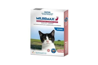 Milbemax Tablets All Wormer For Small Cats