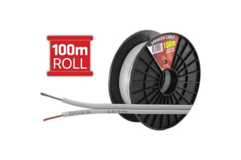 Doss 100M Light Duty Speaker Cable- Reel Roll