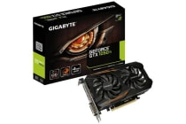 Gigabyte nVidia GeForce GTX 1050 Ti OC 4GB PCIe Video Card 8K @ 60Hz DP HDMI DVI 3x Displays Windforce 2X RGB OC 1455/1430 MHz