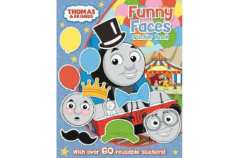 Thomas The Tank Engine Funny Faces Sticker Book - `