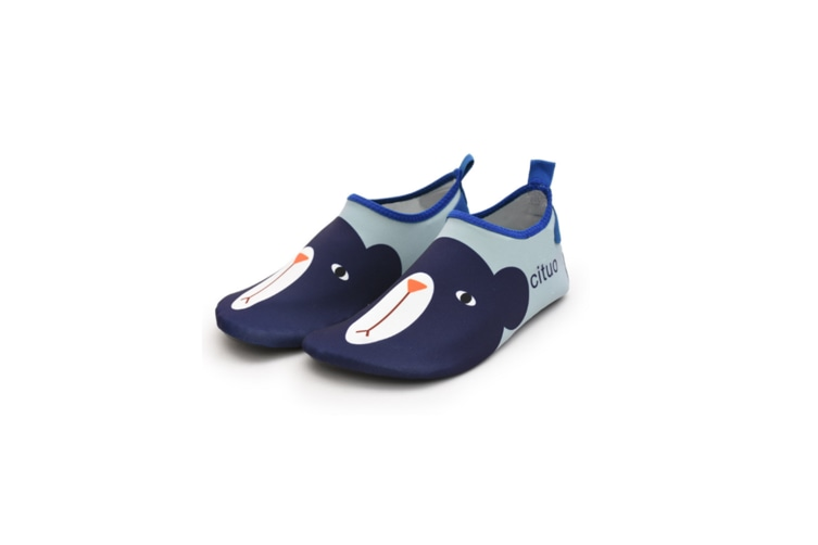 Kids Swim Water Shoes Non-Slip Quick Dry Barefoot Aqua Pool Socks Shoes - 5 22-23