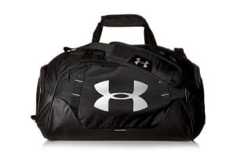 Under Armour Undeniable 3.0 Duffle Bag (Black/Silver)