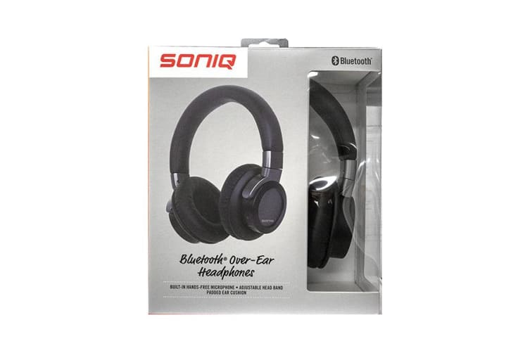SONIQ Comfort Bluetooth Over-Ear Headphones AEP200