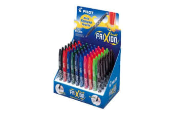 Pilot Frixion Ball 60 Pen Display Pack (BL-FR7-60DPK)