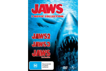 Jaws 2 / Jaws 3 / Jaws The Revenge DVD Region 4
