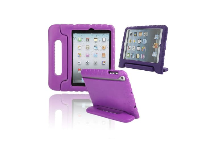 "Kids Ipad Shockproof Case Eva Rubber Ipad Air 2 Pro 9.7"" Apple Skin Purple"