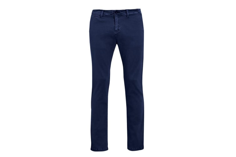 SOLS Mens Jules Chino Trousers (French Navy) (28L)
