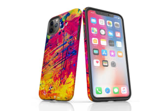 For iPhone 11 Pro Max Shielding Back Case  Abstract Much?