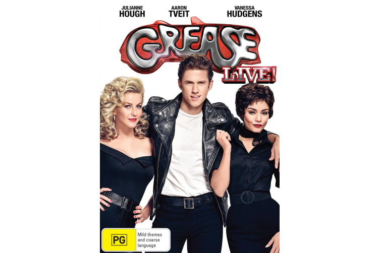 Grease Live DVD Region 4