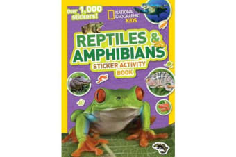 Reptiles and Amphibians Sticker Activity Book - Over 1,000 Stickers!