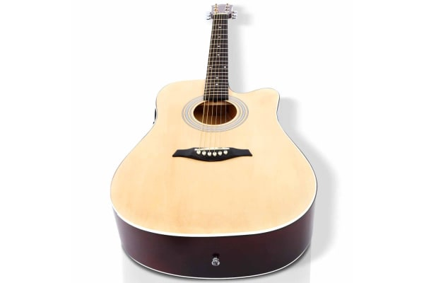 41 5 Band EQ Electric Acoustic Guitar Full Size (Natural)