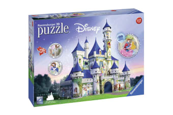 Ravensburger Disney Princesses Castle 216 Piece 3D Puzzle