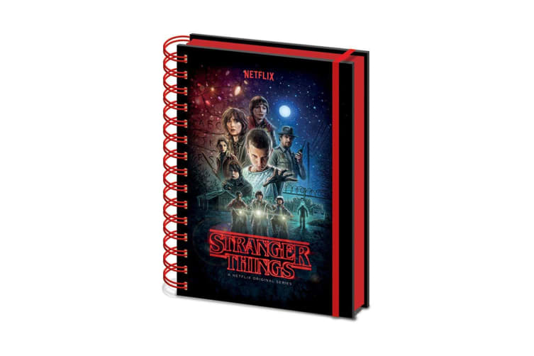 Stranger Things Notebook (Multicolored) (A5)