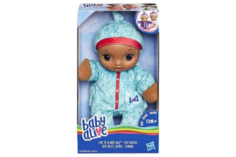 Baby Alive Love My Blankie Baby Blue Doll