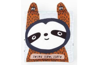Wee Gallery Cloth Books - Swing Slow, Sloth