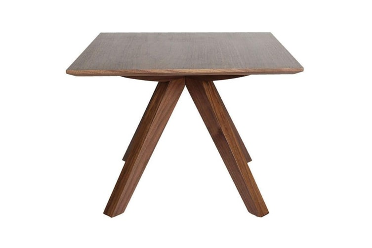 Amber Collection | Wood Side Table | Walnut