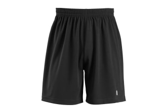 SOLS Childrens/Kids San Siro 2 Sport Shorts (Black) (10yrs)
