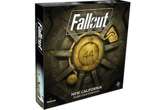 Fallout the Board Game - New California Expansion
