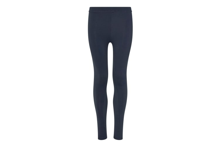 AWDis Just Cool Womens/Ladies Girlie Athletic Sports Leggings/Trousers (French Navy) (XS)