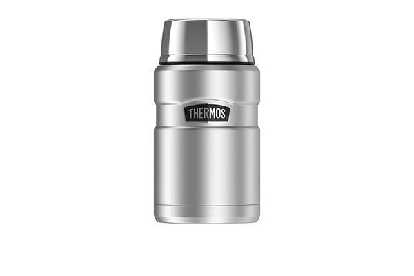 Thermos Stainless King Vacuum Insulated Food Jar 710ml Stainless Steel