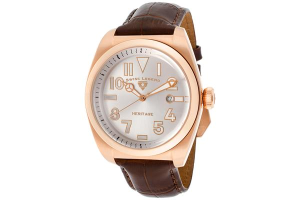Swiss Legend Men's Heritage (SL-20434-RG-02S-BRW)