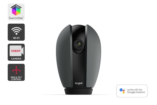 Kogan SmarterHome™ 1080p Smart Wi-Fi Pan and Tilt Camera